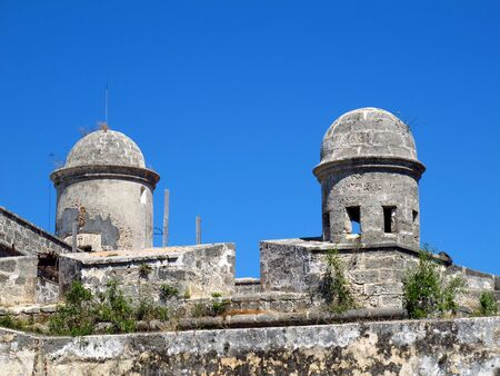 The old fortress in Cienfuegos, Cuba Stock Photo
