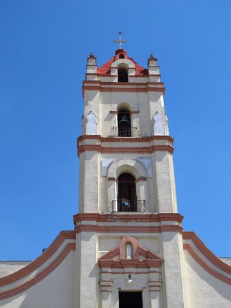 The church in Camaguey, Cuba