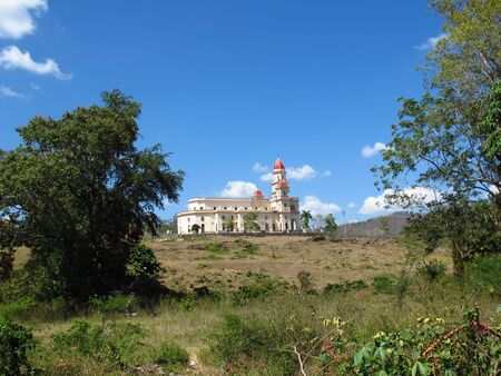 The church in El Cobre, Cuba