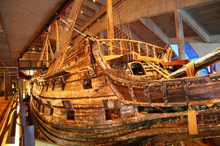 Stockholm / Sweden - 29 Jun 2012: Ship Vasa, museum in Stockholm, Sweden