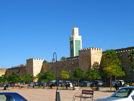 Meknes / Morocco - 03 Nov 2010: The Hedim Square in Meknes, Morocco