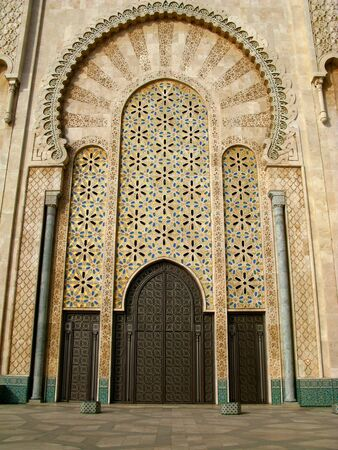 The Hassan II Mosque is a mosque in Casablanca