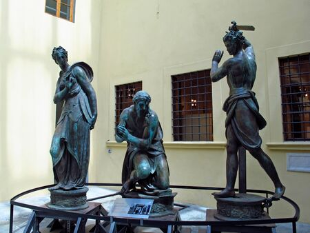 Florence, Italy - 13 Jul 2011: Florence Academy of Art, Italy