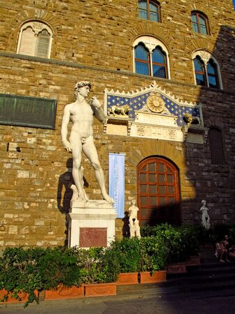 Florence  Italy - 13 Jul 2011: Statue of David, Florence, Italy