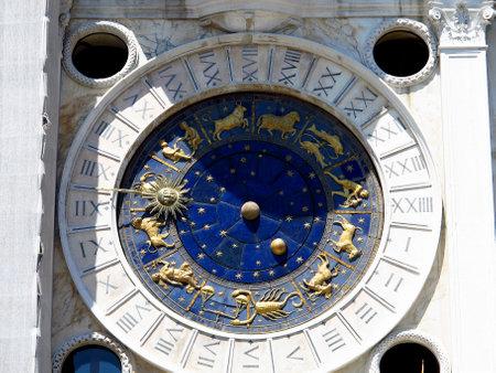 Venice / Italy - 12 Jul 2011: St Mark's Clock Tower, Venice, Italy