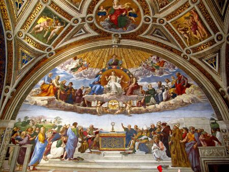 Rome / Vatican - 16 juil. 2011 : Salles Raphaël, Musée du Vatican, Rome, Italie