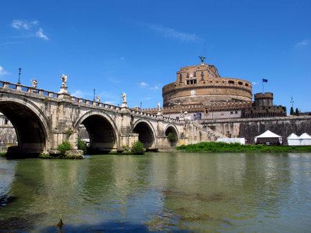 Rome / Italy - 16 Jul 2011: Castel Sant'Angelo in Rome, Italy