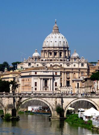 St. Peters Basilica, Vatican, Rome, Italy