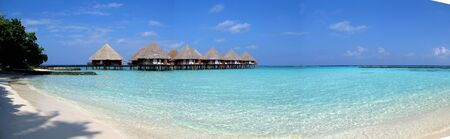 The hotel on Maldives, Indian ocean