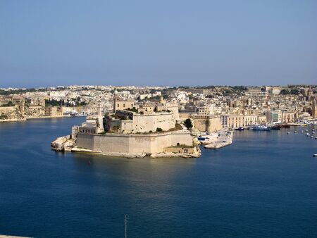 The fortress in Victorious, Malta Stock Photo
