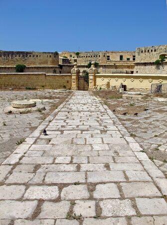 The fortress in Valletta, Malta Reklamní fotografie