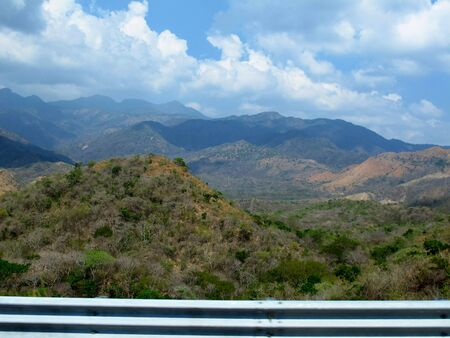 The view on mountains and valleys, Mexico