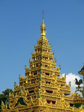 ShweguLay Pagoda, Bago city, Myanmar Stockfoto