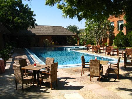 Bagan  Myanmar - 05 Jan 2010: The hotel in Bagan, Myanmar Sajtókép