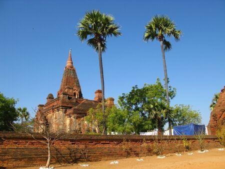 Htilominlo Temple in Bagan, Myanmar 写真素材 - 129449941