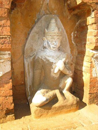 Htilominlo Temple in Bagan, Myanmar 写真素材 - 129452602