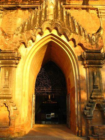 Dhamma Yangyi Temple in Bagan, Myanmar 写真素材 - 129449663