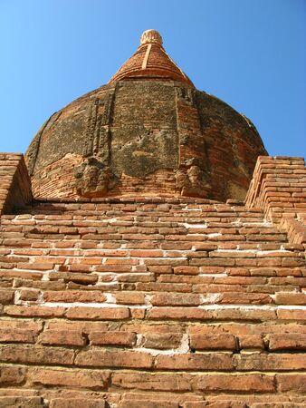Shwesandau Pagoda in Bagan, Myanmar