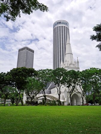 St Andrew's Cathedral in Singapore