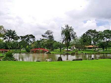 Chinese and Japanese Gardens, Singapore 스톡 콘텐츠