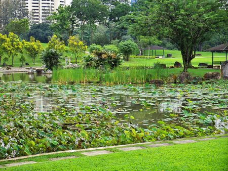 Chinese and Japanese Gardens, Singapore 写真素材