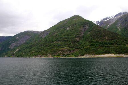Granvin Fjord in Norway, Scandinavia 免版税图像