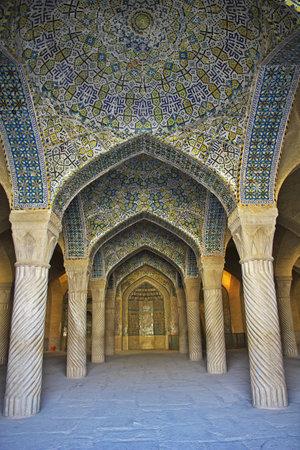 Shiraz / Iran - 29 Sep 2012: Vakil Mosque in Shiraz city, Iran Éditoriale