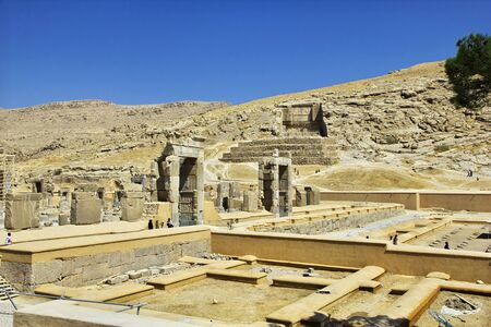 Persepolis / Iran - 30 Sep 2012: Persepolis is the capital of the ancient Empire in Iran
