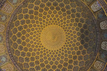 Isfahan / Iran - 03 Oct 2012: Mosque on Naqsh-e Jahan Square in Isfahan, Iran Editorial
