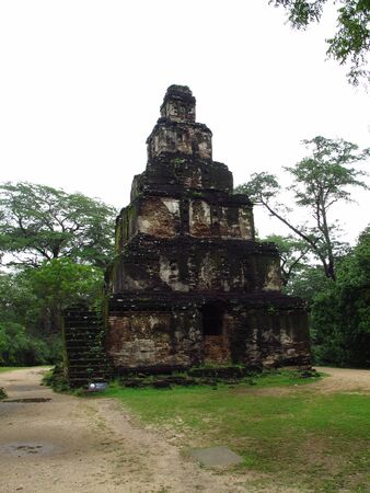 Ruins in Polonnaruwa, Sri Lanka 写真素材