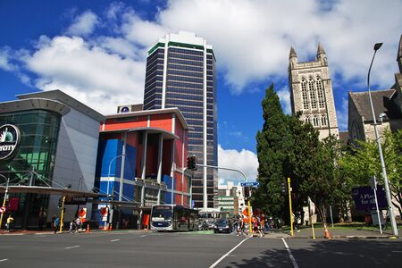 Auckland / New Zealand - 15 Dec 2018: The church in Auckland city, New Zealand Editoriali