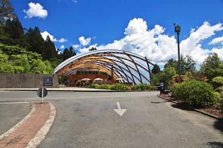 Waitomo / New Zealand - 16 Dec 2018: Waitomo Cave