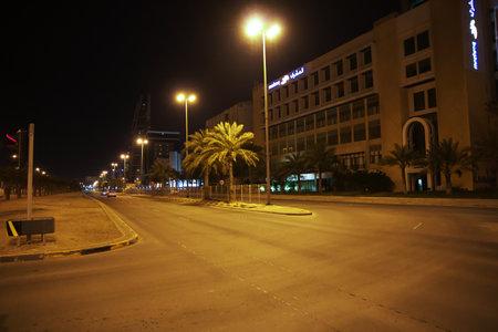 Manama / Bahrain - 07 Mar 2017: The street in Manama, Bahrain Editorial