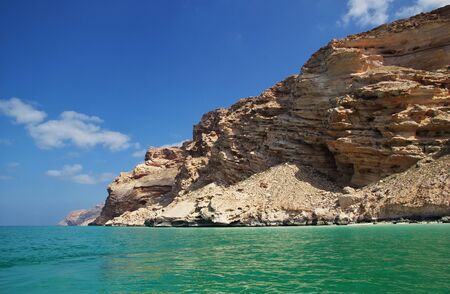 Shuab bay on Socotra island, Indian ocean, Yemen Stock Photo