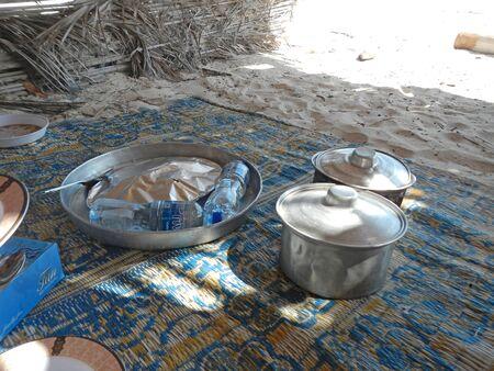The seafood on the coast of Indian ocean, Socotra island, Yemen