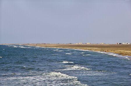The coast of Red Sea, Bab El Mande, Hodeida, Yemen
