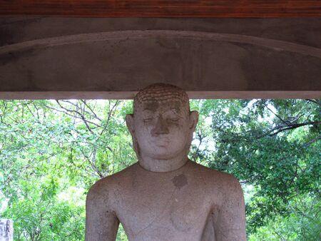 Samadhi Statue, Anuradhapura, Sri Lanka Stock Photo
