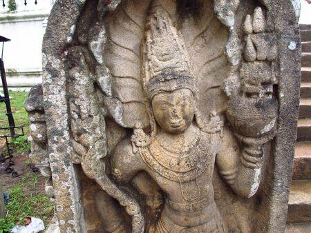 Dagoba of Thuparama, Anuradhapura, Sri Lanka