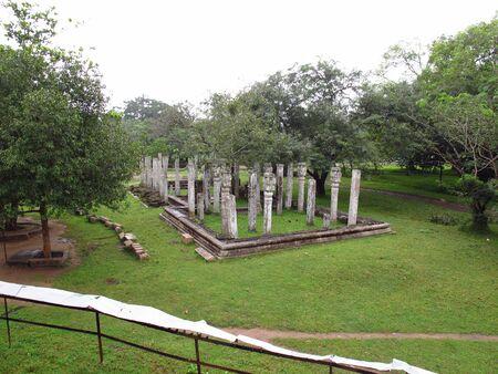 Vintage ruins, Anuradhapura, Sri Lanka Stock Photo