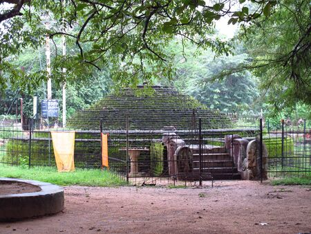 Vintage ruins, Anuradhapura, Sri Lanka