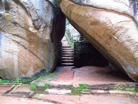 Ancient ruins, Sigiriya, Sri Lanka