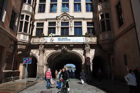 Dresden, Saxony  Germany - 07 Sep 2015: Green Vault in Dresden, Germany