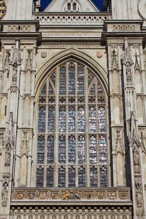 London / UK - 28 Jul 2013: Westminster Abbey in London city, England 新聞圖片