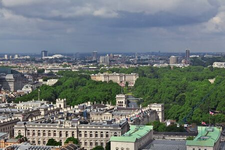 London / UK - 29 Jul 2013: The view on London city, England