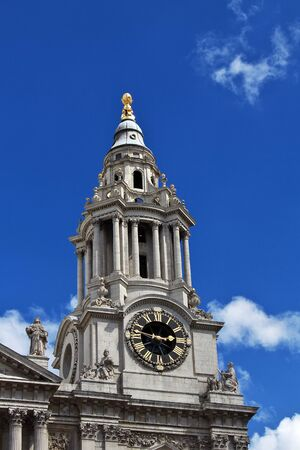London / UK - 28 Jul 2013: St. Paul's Cathedral in London city, England