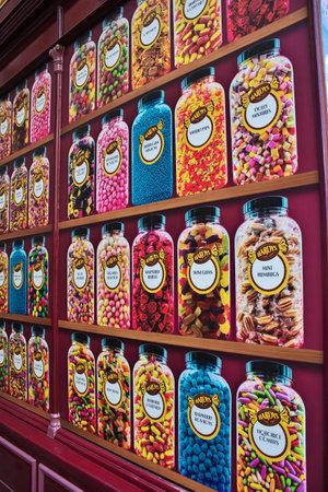 London / UK - 28 Jul 2013: The shop in London city, England