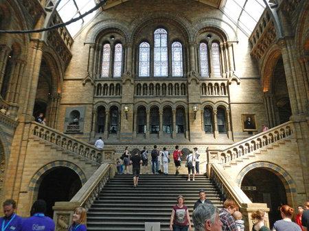 London / UK - 27 Jul 2013: Science museum in London city, England