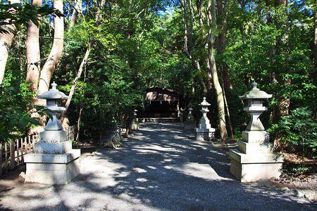 Tsurugaoka Hachimangu Shrine, Kamakura, Japan Фото со стока