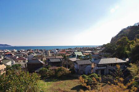 The view on Kamakura city, Japan
