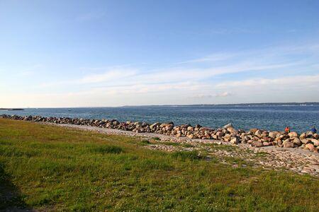 Nord sea in Denmark, Scandinavia